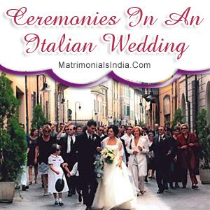 Ceremonies In An Italian Wedding