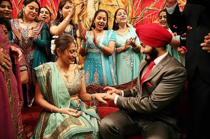 Sikh Wedding, A Boisterous Event