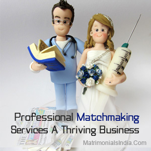 Matchmaking services for professionals