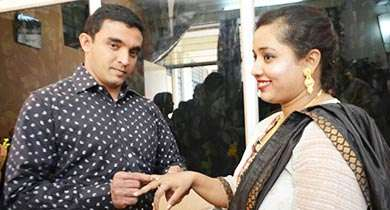 Nilesh with Misha Matrimony Success Story