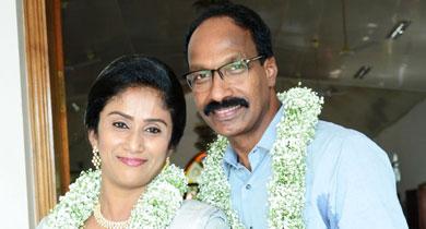 Mathew  kurian and Sapna Matrimony Success Story